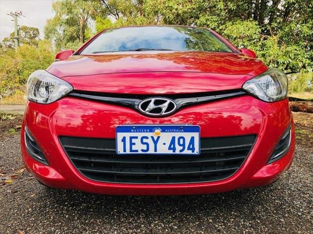 2015 Hyundai i20 Active PB MY15 RED