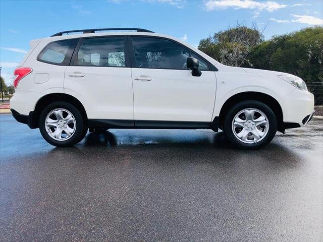 2015 Subaru Forester 2.5i-S S4 MY15 Four Wheel Drive WHITE