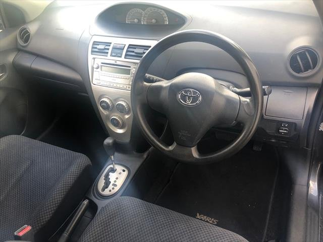 2007 Toyota Yaris YRS NCP93R GREY