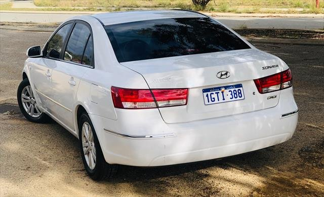 2008 Hyundai Sonata SLX NF MY09 WHITE