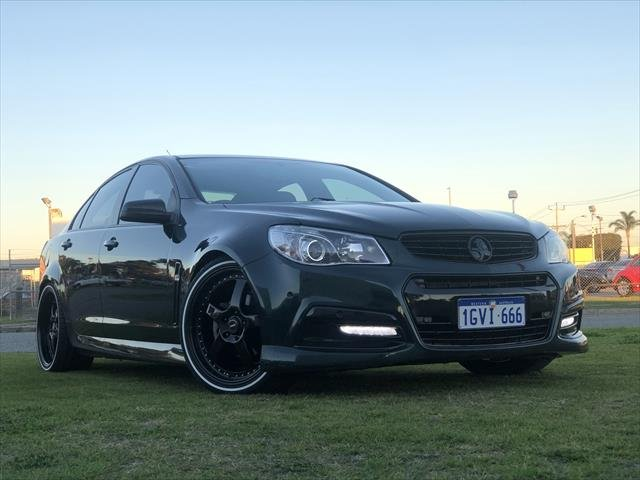 2013 Holden Commodore SV6 VF MY14 REGAL PEACOCK