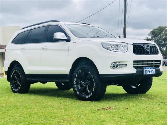 2018 Foton Sauvana Luxury U201 MY18 4X4 White