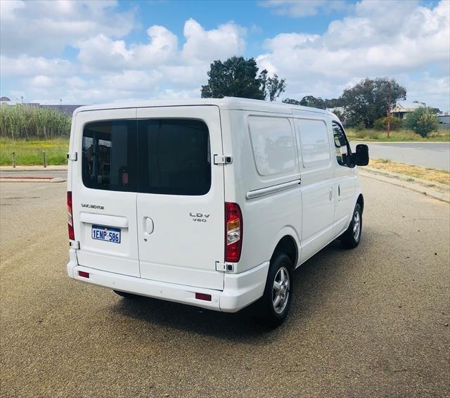 2014 LDV V80 Van Low Roof SWB 5dr AMT 6sp 1204kg 2.5DT WHITE