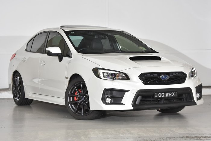 2018 Subaru WRX Premium V1 MY19 Four Wheel Drive White
