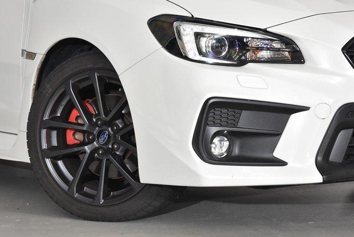 2018 Subaru WRX Premium V1 MY19 Four Wheel Drive White