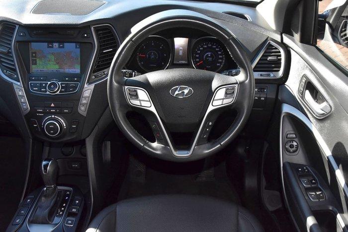 2014 Hyundai Santa Fe Highlander DM2 MY15 4X4 On Demand White
