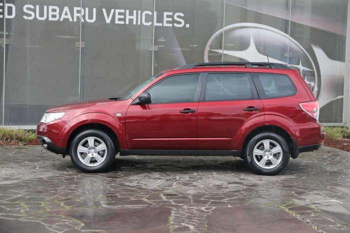 2012 Subaru Forester X Luxury Edition S3 MY12 Four Wheel Drive Red