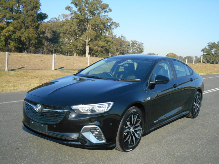 2018 Holden Commodore RS ZB MY18 4X4 On Demand Black
