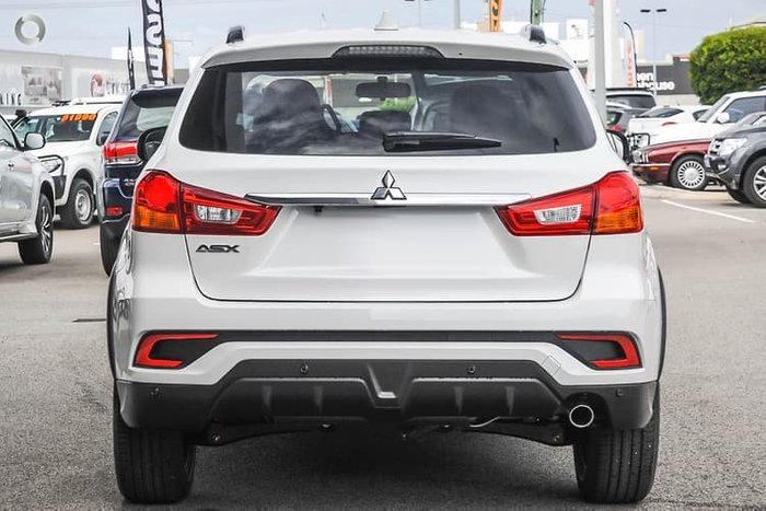 2019 Mitsubishi ASX Black Edition XC MY19 White