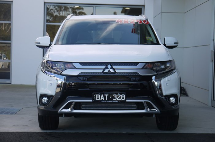 2019 Mitsubishi Outlander Exceed ZL MY19 4X4 On Demand White