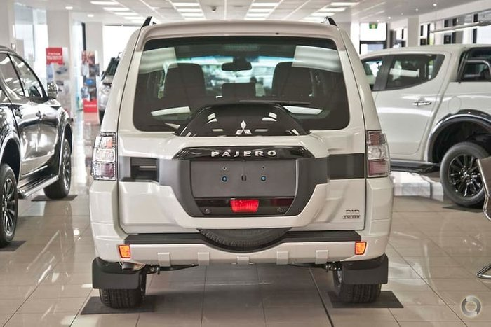 2019 Mitsubishi Pajero Exceed NX MY19 4X4 Dual Range White