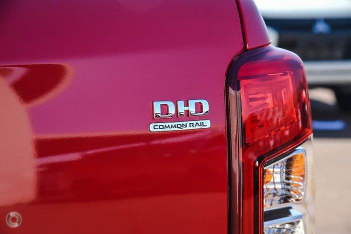 2019 Mitsubishi Triton GLS Premium MR MY19 4X4 Dual Range Red