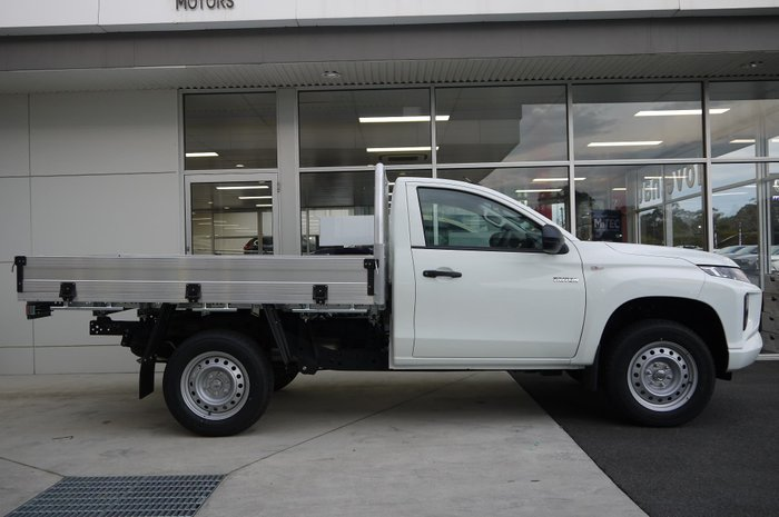 2019 Mitsubishi Triton GLX MR MY19 White