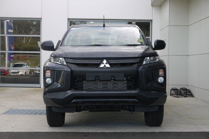 2019 Mitsubishi Triton GLX MR MY19 4X4 Dual Range Grey