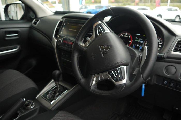 2019 Mitsubishi Triton GLS MR MY19 4X4 Dual Range Blue