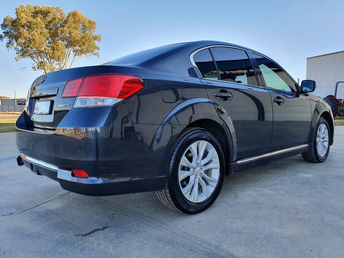 2012 Subaru Liberty 2.5X 5GEN MY13 Four Wheel Drive Grey