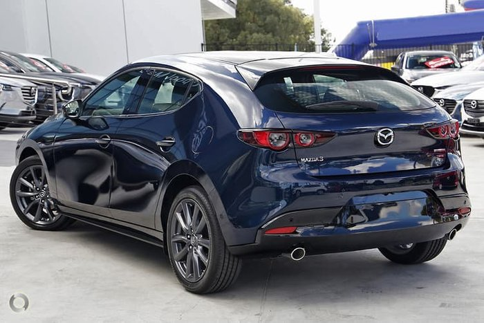 2019 Mazda 3 G20 Touring BP Series Blue
