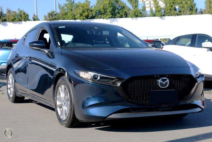 2019 Mazda 3 G20 Pure BP Series Blue