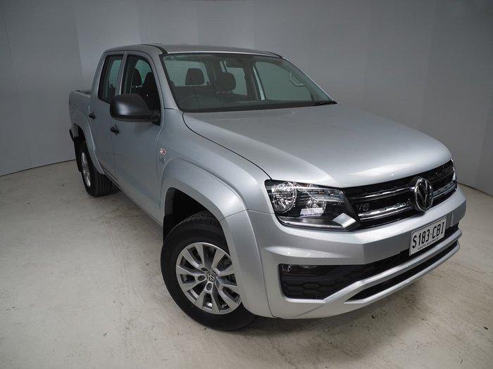 2019 Volkswagen Amarok TDI550 Core 2H MY19 4X4 Constant Silver