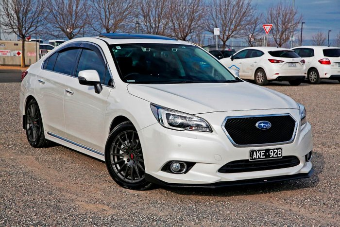 2016 Subaru Liberty 3.6R 6GEN MY16 Four Wheel Drive White