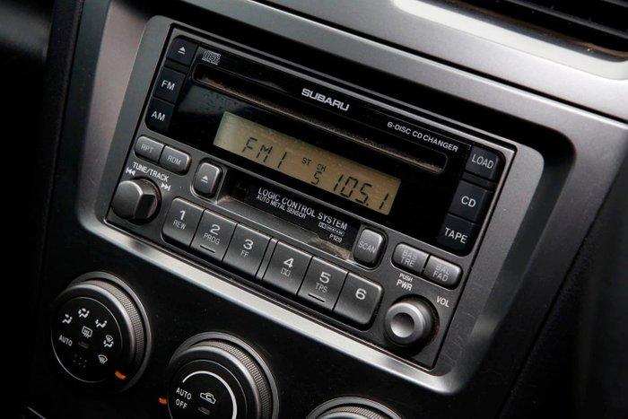 2007 Subaru Impreza Luxury S MY07 4X4 Dual Range White