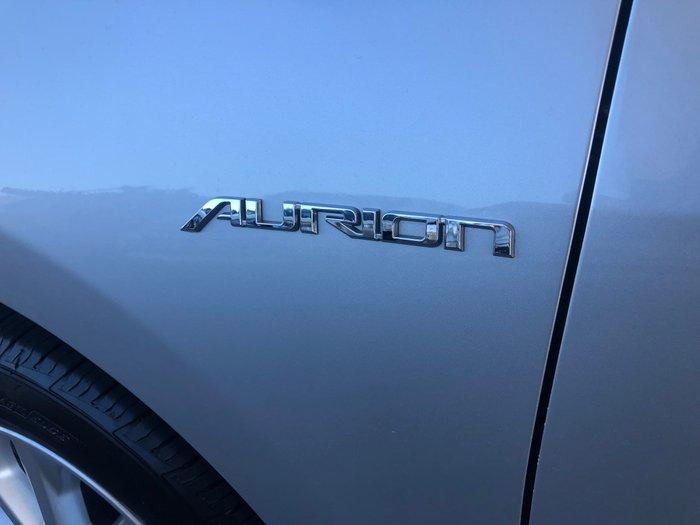 2012 Toyota Aurion AT-X GSV50R Silver