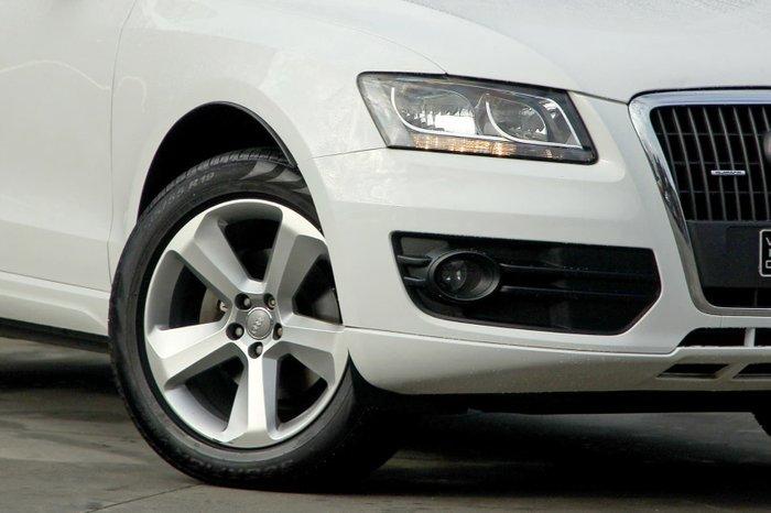 2010 Audi Q5 TFSI 8R MY10 Four Wheel Drive White