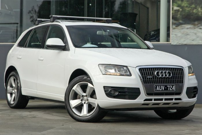 2010 Audi Q5 TFSI 8R MY10 Four Wheel Drive White