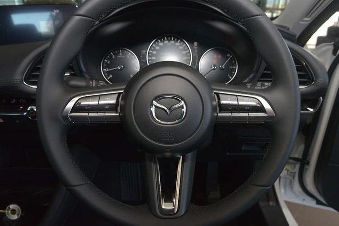 2019 Mazda 3 G20 Evolve BP Series White