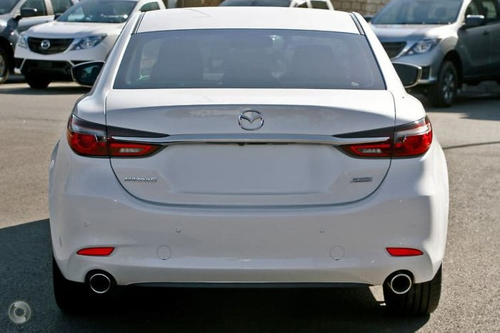 2018 Mazda 6 Touring GL Series White