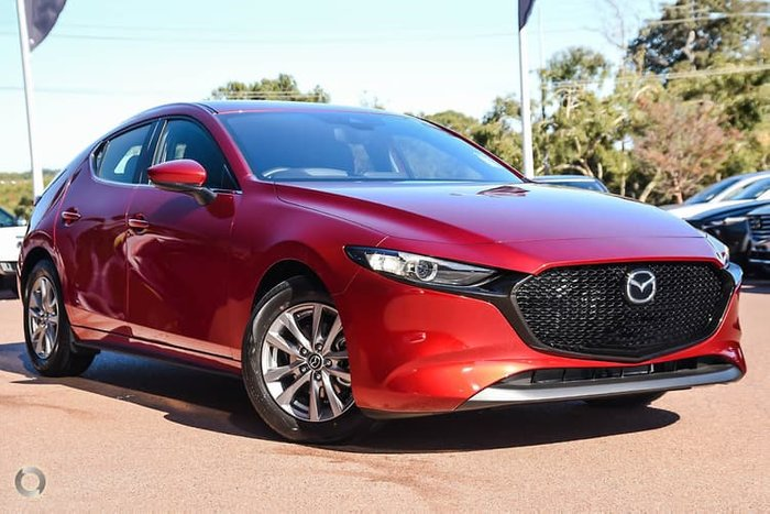 2019 Mazda 3 G20 Pure BP Series Red