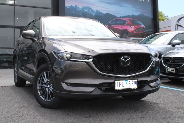 2019 Mazda CX-5 Maxx Sport KF Series 4X4 On Demand Bronze