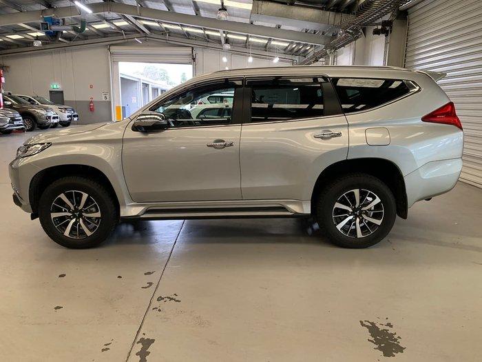 2018 Mitsubishi Pajero Sport GLS QE MY18 4X4 Dual Range Silver