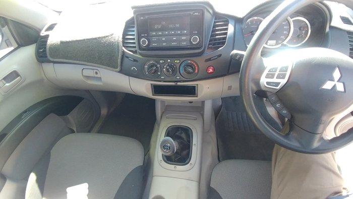 2014 Mitsubishi Triton GL MN MY15 White