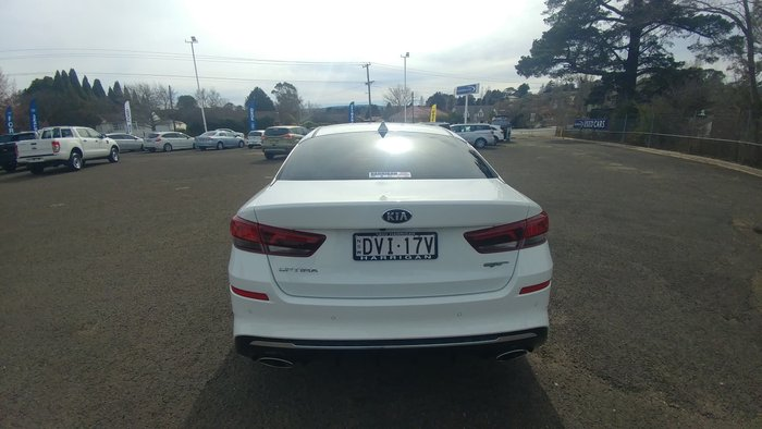 2018 Kia Optima GT JF MY19 White