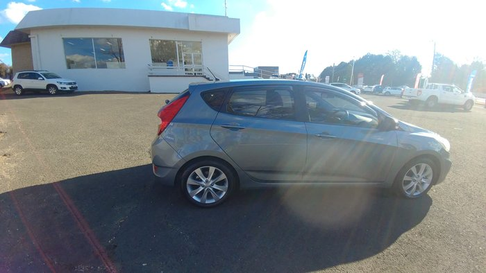 2017 Hyundai Accent Sport RB6 MY18 Blue