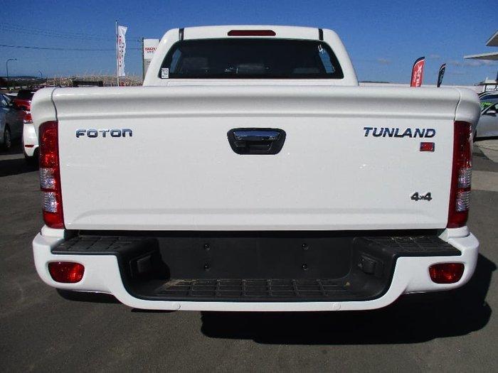 2017 Foton Tunland Standard P201 4X4 White