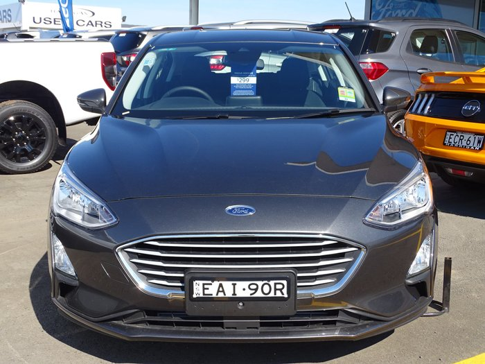 2018 Ford Focus Trend SA MY19 Grey