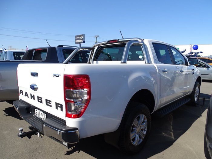 2018 Ford Ranger XLT PX MkIII MY19 4X4 Dual Range White