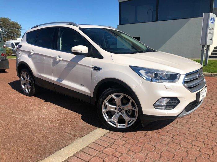 2018 Ford Escape Titanium ZG MY18 4X4 On Demand White