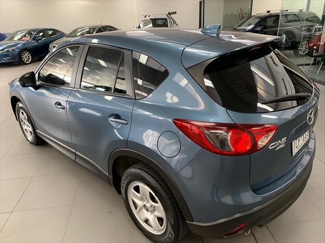 2014 Mazda CX-5 Maxx KE Series MY14 4X4 On Demand Eternal Blue