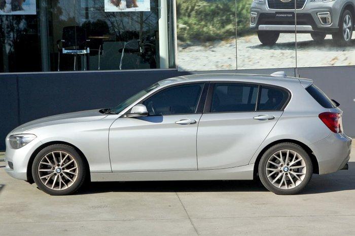 2011 BMW 118i F20 Silver