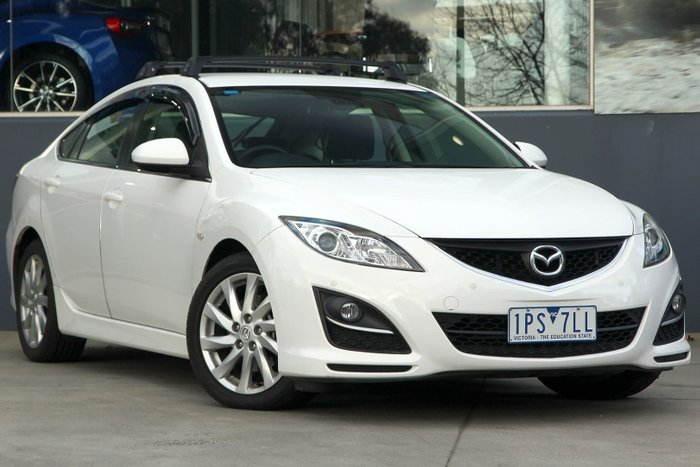 2012 Mazda 6 Touring GH Series 2 MY12 White