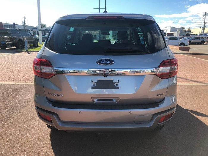 2018 Ford Everest Trend UA II MY19 4X4 Dual Range Silver