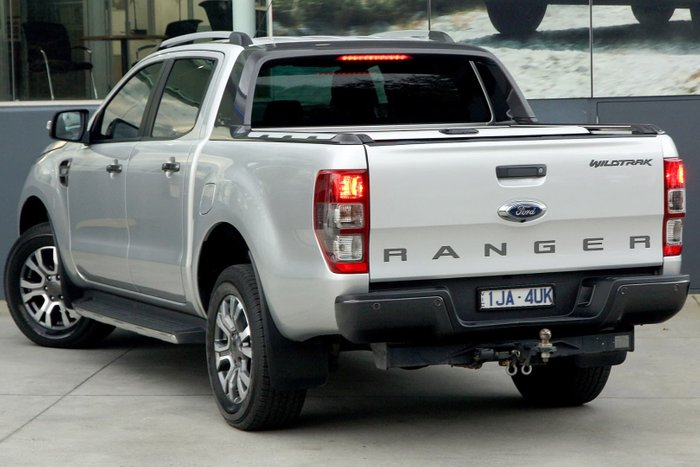 2017 Ford Ranger Wildtrak PX MkII 4X4 Dual Range Silver