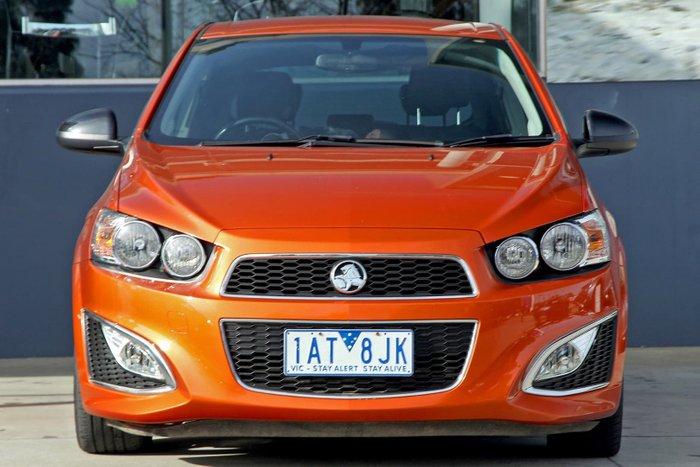 2013 Holden Barina RS TM MY14 Orange