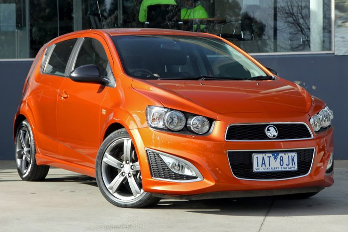 2013 Holden Barina RS TM MY14 Orange