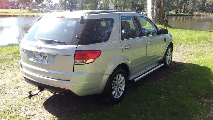 2014 Ford Territory TX SZ MkII Silver