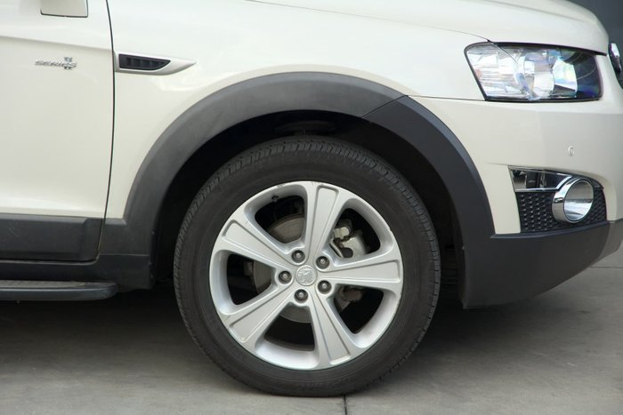 2012 Holden Captiva 7 LX CG Series II MY12 4X4 On Demand White