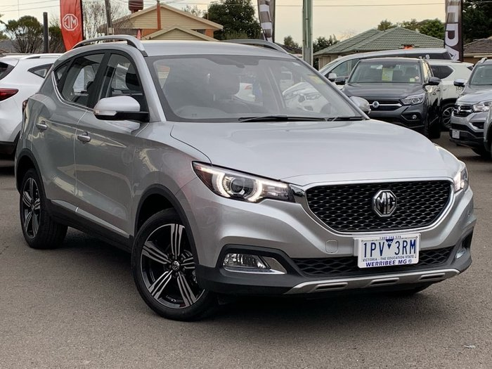 2018 MG ZS Excite AZS1 MY19 Silver